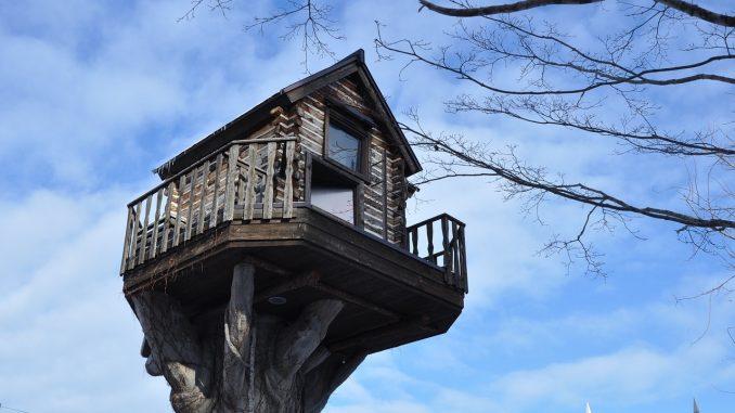 Een boomhut spreekt tot de verbeelding duurzaam huis en tuin for Huis duurzaam maken